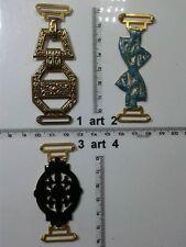 1 bretella abito bottone gioiello bretelle smalto buttons bouton vintage lot g1