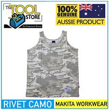 Makita Workwear Rivet Camo Singlet