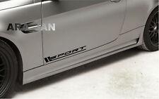 SPORT Vinyl Decal sport car sticker racing sticker emblem logo PAIR