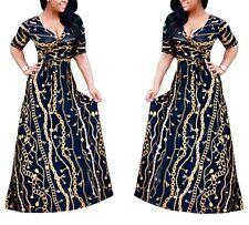 Vestito Lungo Donna anche Curvy L-5XL Woman Maxi Dress Oversize Also OS120031