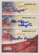 2013 Upper Deck USA Football Canada Rivals Autographs #C-30 Gordon Whyte Auto