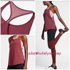 NikeLab Women's  Essentials Training Gym Running Tank Cedar