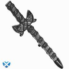 Celtic Style Sword Kilt Pin - BRAND NEW - Antique Finish - Scottish Highland