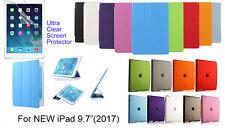 "Screen protector/Ultra Slim Smart Matte Case for NEW iPad 9.7"" (2017)"