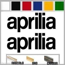ADESIVI 2x Sticker APRILIA #0004