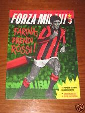 FORZA MILAN 1985/5 GIANNI RIVERA BENVENUTI GALLI MACINA