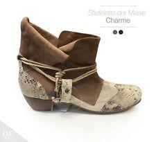 Damen Chelsea Boots Schleifen Stiefeletten Bequem Leder-Optik 811921 Schuhe