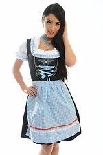 "3pcs Authentic Oktoberfest Dirndl German Bavarian Dress Female Tracht ""SISSY"""