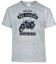 Camiseta T-Shirt,Zündapp DB 201,Bike,Moto,Youngtimer,Oldtimer