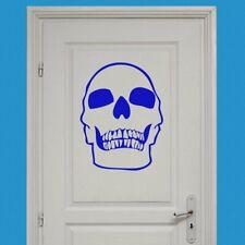 Skull Horror Wall Sticker Decal Transfer Bedroom Home Design Matt Vinyl UK
