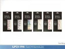 NAIL Bling ADESIVI - 20 PZ-perfetto per Manicure in minuti-SERIE DIAMANTE