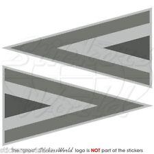 UNGARN Luftwaffe UNGARISCHE Roundel LowVis 95mm Vinyl Sticker Aufkleber x2