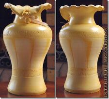 TISCHVASE Dekovase 30cm aus Keramik Vase mediterran GROßE AUSWAHL FARBEN GRÖßEN