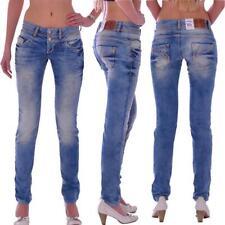 Cipo & Baxx CBW 347A Damen Röhren blue Jeans Hose Slim Fit Damenjeans Jeanshose