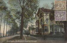 NETHERLANDS GRONINGEN ZUIDERPARK LANGS HET KANAAL 1907 GAG. 104