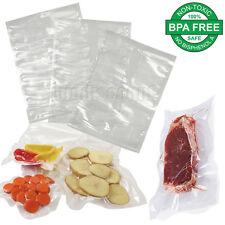 Vacuum Food Sealer Bags Storage Saver PreCut Commercial Grade 100 200 300 Pcs