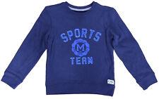 Boys Sweatshirt Ex Uk Store Sports Team Jumper Top 1-8 Years Brand New