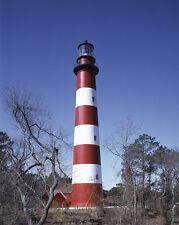 Assateague Island Light lighthouse off coast Virginia Eastern Shore Photo Print