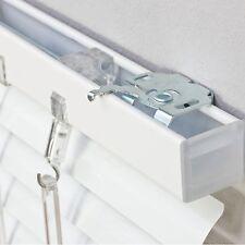 Alu Jalousie Faltstore Lamellen Aluminium Fenster Tür Rollo Weiß 50 bis 200 cm