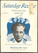 SATURDAY REVIEW N 1948 EDGAR ANSEL MOWRER-Vera Micheles Dean-NATHANIAL HAWTHORNE