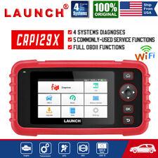 LAUNCH X431 CRP129X VII+ Car OBD2 Scanner Code Reader ABS SRS Engine Diagnostic