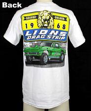 1968 Lions Drag Strip 1966 Chevrolet Corvette Dragster Muscle US Car T- Shirt