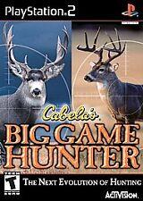 Cabela's Big Game Hunter PlayStation 2 PS2 -- Comes in case