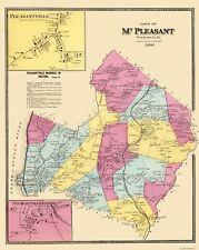 Old City Map - Mount Pleasant New York Landowner - 1868 - 23 x 28.94