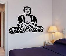 Wall Decal Buddha Buddhism Meditation Relaxation OM Zen (z2660)