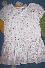 Izod Dress Girls Floral Print Layered Pleated Lace Sz 3T, 4Toddler Sz 6 New