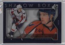 2014-15 SPx Shadow Box Signatures Autographed #SH42 Evgeny Kuznetsov Auto Card