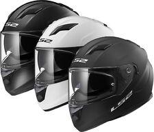 LS2 FF320 Motorrad Integral Road Unfall Deckel Sonnenblende Helm