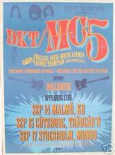 Mc5 2004 Sweden Tour Concert Poster - Wayne Kramer,Michael Davis,Dennis Thompson