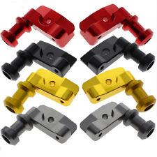 CNC Swingarm Spool Adapters Mounts For Honda CBR250R CBR300R 8mm Hole