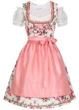 50% OFF B18089037 Damen 77 Lifestyle Dirndl Kleid mit Schürze & Bluse rosa weiß
