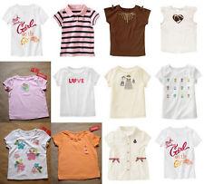 NWT Gymboree Girls Top Tee Shirt Sizes:4 5 6 7 ~ YOU CHOOSE