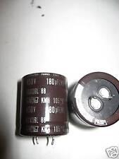 Lot de 2 - Condensateur Chimique 180µF 180uF 180MF 450V 105°c