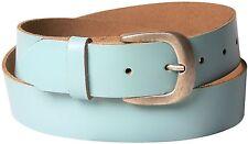FRONHOFER Jeansgürtel für Damen, Ledergürtel, Gürtel silberne Schnalle altsilber