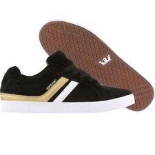 $48 Supra Sport black gold 21012 Premium Skate Fashion Sneakers sz 5