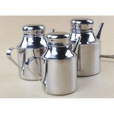 Stainless Steel Olive Oil Vinegar Dispenser Oil Can Hand Drip Pot 24-48oz