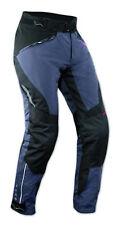 Pantalon Impermeable Femme Protections CE Thermique Motard Reflechissant Blue