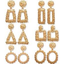 Womens Earrings Round Square Dangle Ear Studs Fashion Geometry Drop Earrings