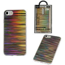 ^ Space Case Rainbow Bunt Regenbogen Glitzer Schale Cover Etui ver. Handy