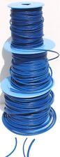 Cordón de cuero azul Española/Tanga 2 mm, 3 mm, 4 Mm, Varios Largos