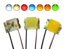 SMD LED 0805 mit Kupferlackdraht Draht Kabel Mini LEDs in verschiedenen Farben