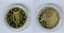 Irland  20 Cent PP/Proof  (Wählen Sie unter: 2006, 2007, 2009, 2012, 2016)