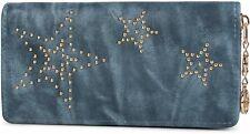 styleBREAKER portefeuille vintage, rivets à billes sous forme d`étoile