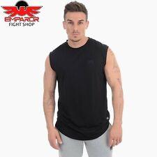 PHANTOM Athletics Tank Top Sonic Nero Fitness Sport Shirt smanicato Uomo