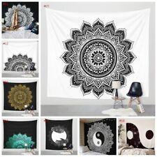 UK Boho Tapestry Beach Throw Towel Mandala Round Hippie Mat Picnic Blanket Hot