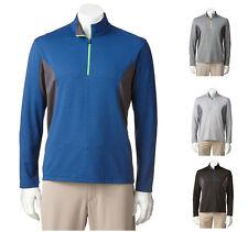New Grand Slam Men's Pullover 1/4-Zip L/S Performance Golf Shirt XXL MSRP $60
